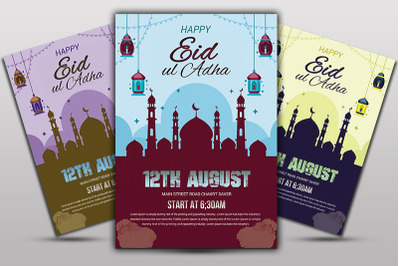 Happy Eid ul Adha Poster