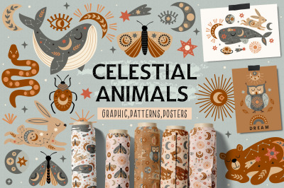 Celestial animals collection