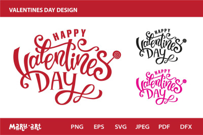 Valentines Day Party Design, sign, logo