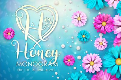 Honey Monogram