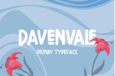 Davenvale - Display Typeface