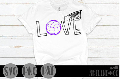 Volleyball love, sports