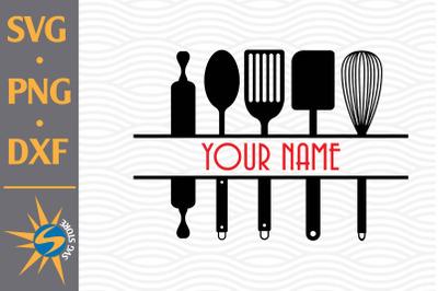 Split Kitchen SVG, PNG, DXF Digital Files Include