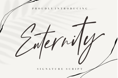 Enternity Signature Script