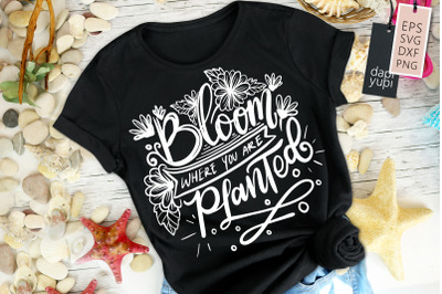 Bloom Where You Are Planted Quotes