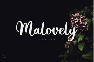 Malovely Font