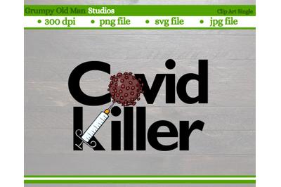 covid killer cut file | coronavirus vaccine cut file | png file | eps