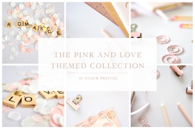 The Pink and Love Themed Collection