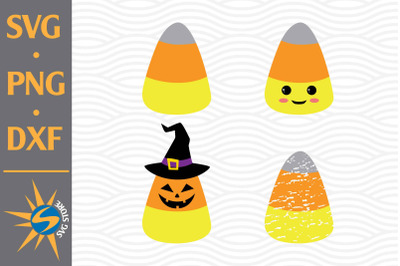 Candy Corn SVG, PNG, DXF Digital Files Include