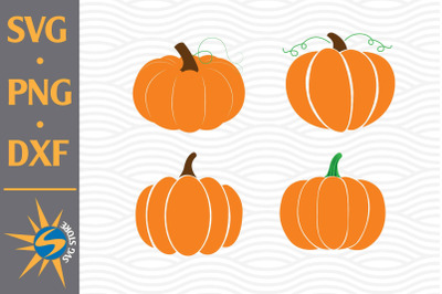 Pumpkin SVG, PNG, DXF Digital Files Include