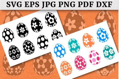 Decorated Easter Eggs SVG Bundle