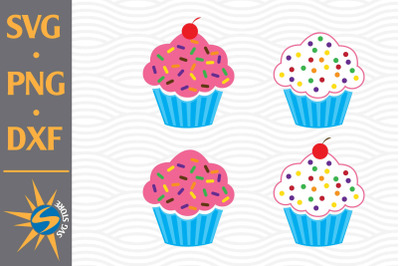 Capcake SVG, PNG, DXF Digital Files Include