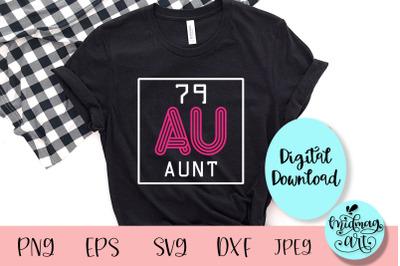 Aunt periodic table svg, aunt svg