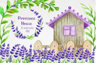 Watercolor clipart, House painting, Watercolor house, Sublimation art