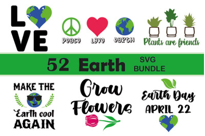 Earth svg bundle, Earth day svg cut file, Greenlife svgs