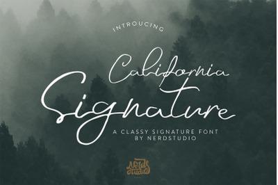 California Signature