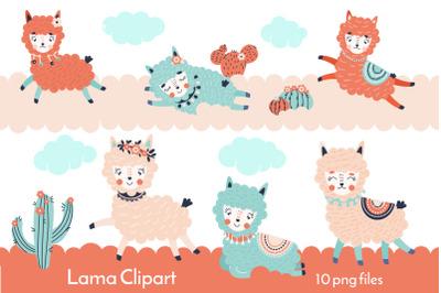 Lama Clipart PNG 30