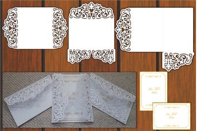 Wedding Invitation Templates, Envelope Svg, Invitation Card