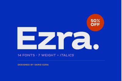 Ezra - Modern Sans (50% OFF)