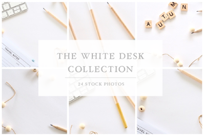 The White Desk Collection