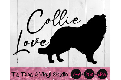 Collie Svg, Love Svg, Dog Love Svg, Collie Love Svg, Dog Svg, Collie P