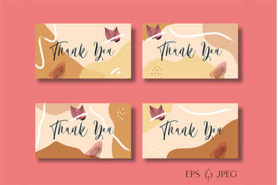 Prinatable Thank You Card