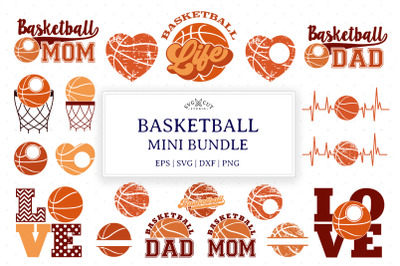 Basketball Bundle SVG Cut Files
