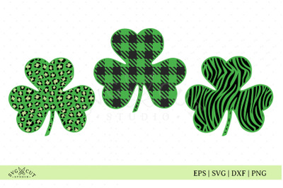 St. Patricks Day SVG Files, Clover SVG files