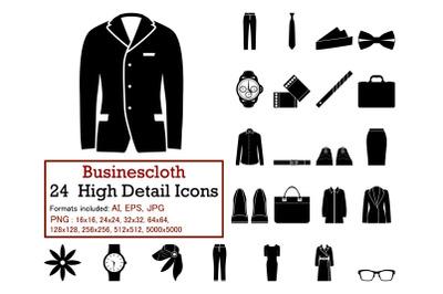 Businescloth Icon Set