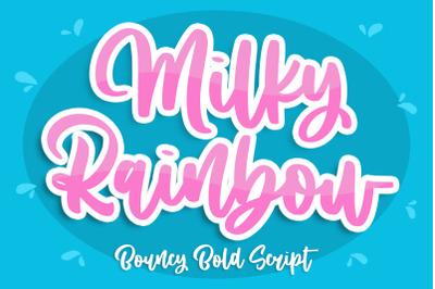 Milky Rainbow