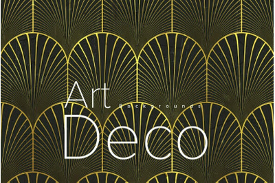 Art deco backgrounds