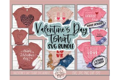 Valentines Day SVG Bundle, 8 Shirt Designs, Love svg Bundle, Valentine