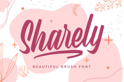 Sharely - Beautiful Brush Font