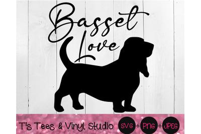Basset Hound Svg, Love Svg, Dog Love Svg, Basset Love Svg, Dog Svg, Ba