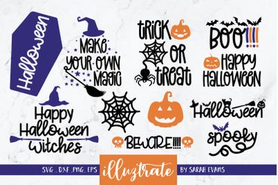 Halloween SVG Bundle    Halloween SVG Cut Files   Halloween SVG