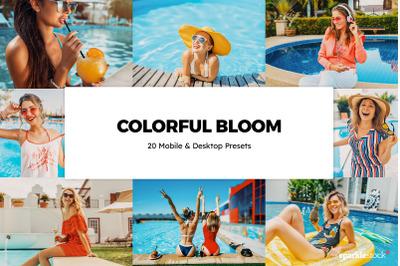 20  Colorful Bloom LR Presets