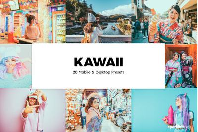 20 Kawaii Lightroom Presets & LUTs