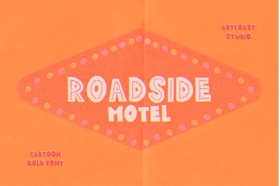 Roadside Motel Font
