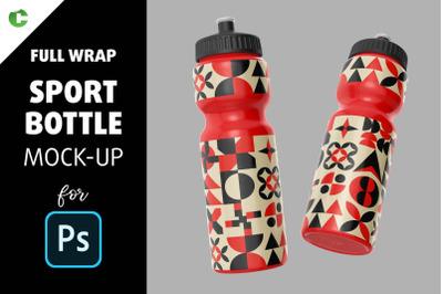 Sport Bottle Mock-Up