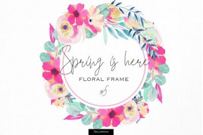 Spring frame #5