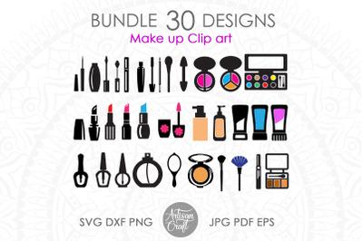 Makeup clipart, Cosmetics SVG, cut files