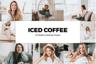 20  Iced Coffee LR Presets