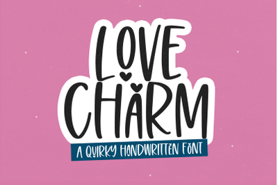 Love Charm - Quirky Handwritten Font