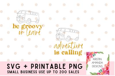 Adventure is Calling SVG Bundle PNG Printable Clipart
