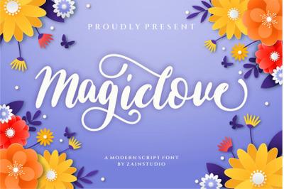 Magic Love Handwritten Font