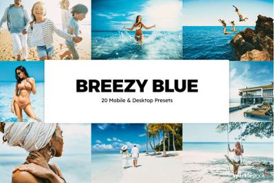 20  Breezy Blue LR Presets