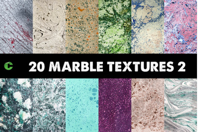 20 Marble Textures Pack 2