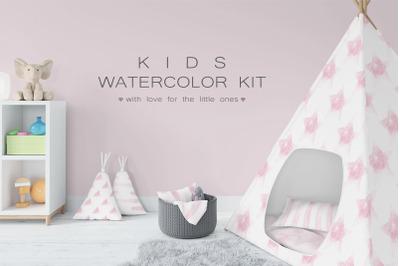 Kids Watercolor Kit