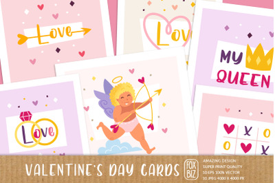 St Valentines Day digital greeting cards, invitations.