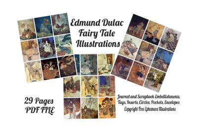 Edmund Dulac Vintage Fairy Tale Images 1
